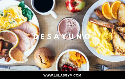 DESAYUNO:  NUTRIENTES QUE DEBES INCLUIR