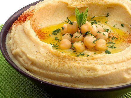 humus garbanzo